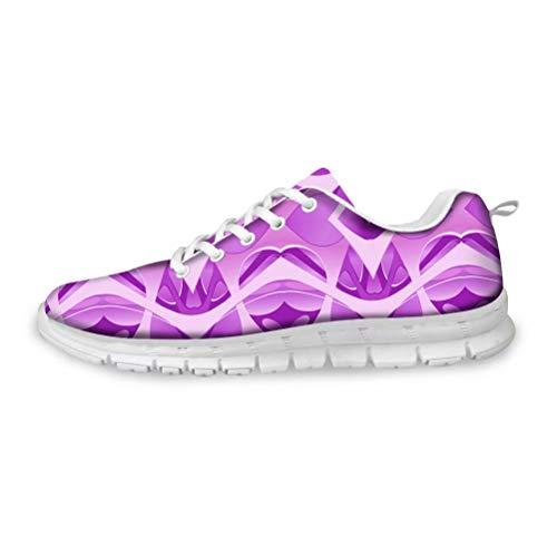 Paseo del Arte sobre los Zapatos Zapatos de Entrenamiento Cruzado Corriendo los Zapatilla de Deporte de los Hombres de los Zapatos de Bolos para los Hombres de Gran Anchura Tamaño 40 EU