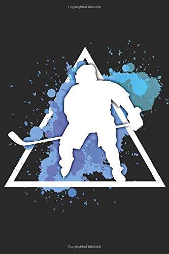 Ice Hockey: The players wear ice skates on their feet and can skate across the ice at very high speeds logbook