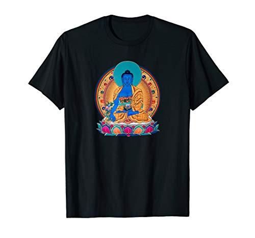 Medicine Buddha Healing Mantra Tibetan Buddhist Yoga Shirt