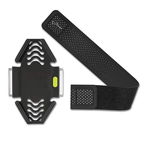 Bone Collection Combo-Set Sportarmband für Handy, Leicht Handyhalter zum Joggen Handytasche Sport, Handy Halterung Arm Band für Smartphone - Inkl. Alle 3 Größen – Schwarz
