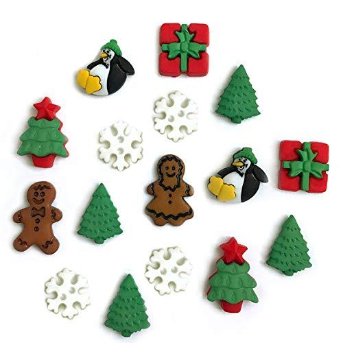 Buttons Galore and More colección de botones y adornos basados en una variedad de temas, día festivo y estaciones para manualidades, álbumes de recortes, costura, tarjetas y...