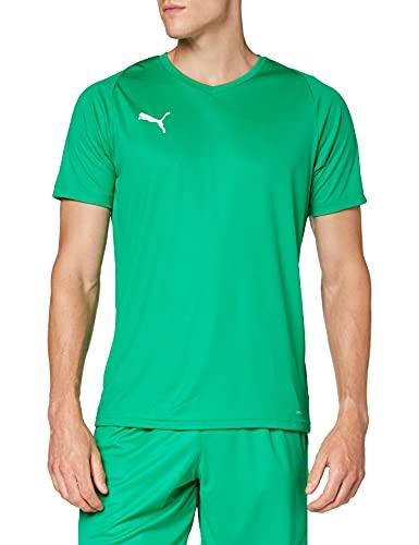 PUMA Herren Jersey, Grün (Pepper Green-Puma White), 56/58 (Herstellergröße: XL)