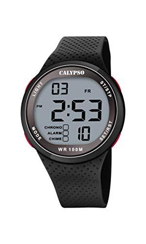Calypso Quarz Uhr mit Kunststoff Armband K5785/4