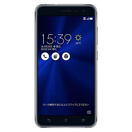 {ASUS ZenFone3 SIMフリースマートフォン (ホワイト/5.5インチ)【日本正規代理店品】(オクタコアCPU/4GB/64GB/DSDS & au VoLTE対応)ZE552KL-WH64S4/A}