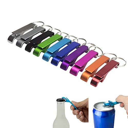 Steellwingsf 5Pcs Aluminiumlegierung Tasche Schlüsselanhänger Bier Flasche Öffner Hochzeit Gunsten Geschenke - zufällige Farbe 5pcs