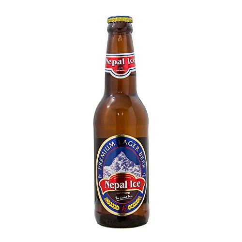 ネパールアイス プレミアム ラガー ビール 330ml 1本 瓶 ネパールビール Nepal Ice PREMIUM LAGER ...