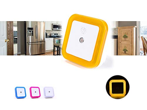 Marsson Nachtlicht mit Sensor - Ideal als Schneefräse für Kinder, Babyzimmer, Küchenlicht, Bad, Flur und Empfänger orange
