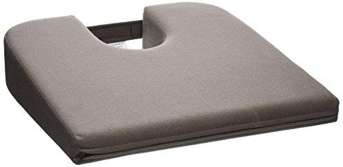 Tush Cush Compact Car Cush - Charcoal Gray