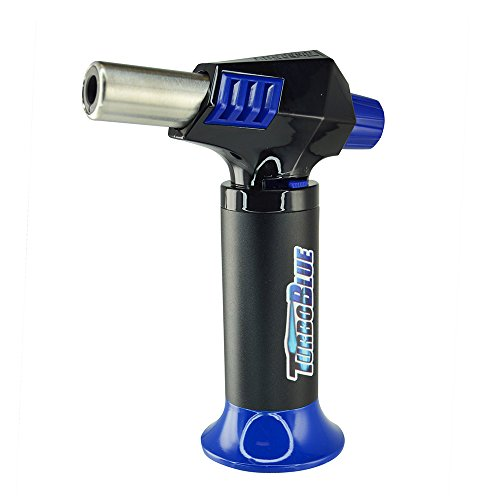 Turbo Blue Magnum Jet Flame Refillable Torch Lighter - Powerful Windproof Flame (1)