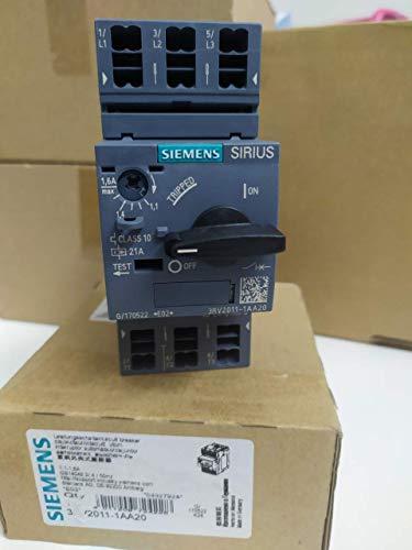 Siemens 3RV2011-1AA20 - Interruptor de circuito (1,1 - 1,6 A)