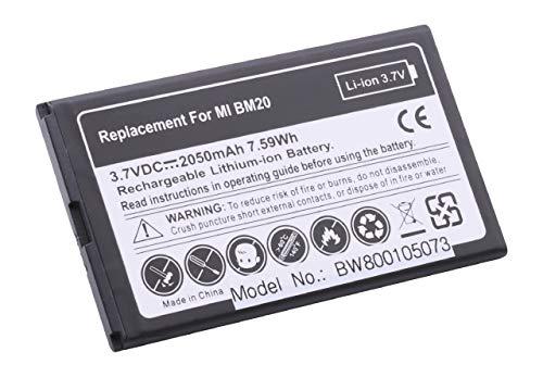vhbw Li-Ion batteria 2050mAh (3.7V) per cellulari e smartphone Xiaomi 2S, M2, Mi2, Mi2S sostituisce BM20.