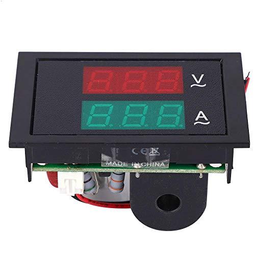 AC spänning strömmätare AC80-300V 0-50A DL85-2041 digital display amperemätare voltmeter panel med strömtransformator