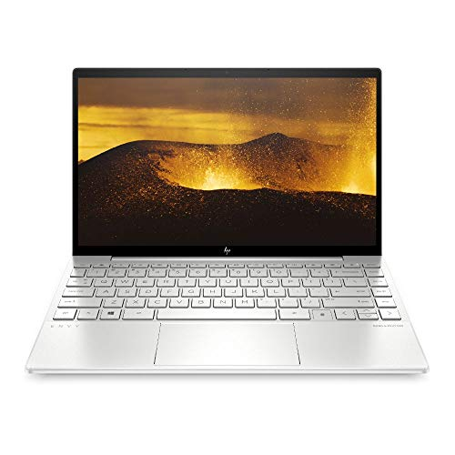 HP ENVY 13-ba1276ng (13,3 Zoll / FHD IPS Touch) Laptop (Intel Core i7-1165G7, 16 GB DDR4, 512 GB SSD, NVIDIA GeForce MX450 (2 GB GDDR5), Windows 10 Home) Silber