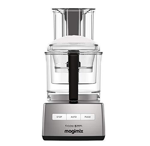 Magimix 18715F CS 5200 XL Premium Küchenmaschine, Edelstahl