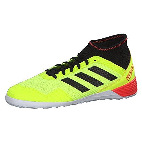 adidas Predator Tango 18.3 In, Zapatillas de fútbol Sala para Hombre, Amarillo (Amasol/Negbás/Rojsol 000), 43 1/3 EU