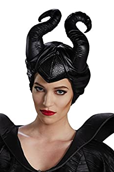 Disguise Women s Disney Maleficent Movie Horns Costume Accessory Black Adult