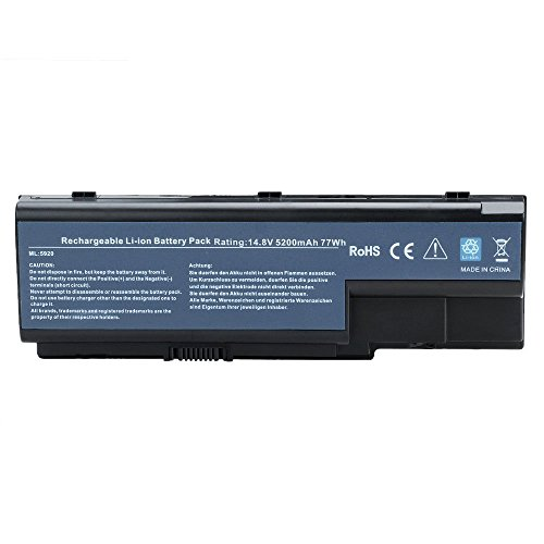 7XINBOX 14.8 V 5200 mAh 8 Cell Replacement Battery AS07B31 for ACER ASPIRE 5920 5315 5520 6930 7520 7720 Series fits AS07B41 AS07B51 AS07B32 AS07B71 AS07B72