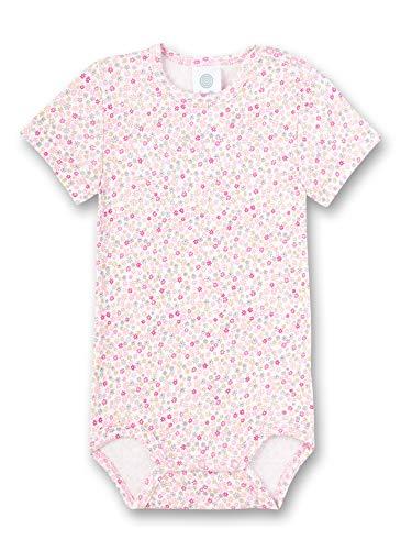 Sanetta Baby-Mädchen Halbarmbody Spieler, Rosa (rosa 3813), 74 (Herstellergröße:074)