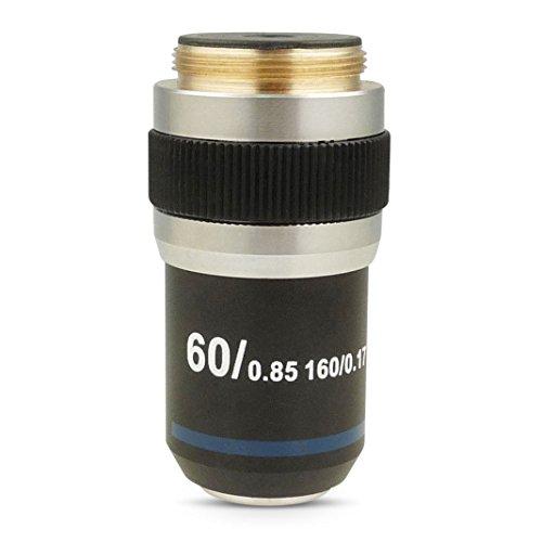 60X TROCKEN Achromatische Objektivlinse für zusammengesetztes biologisches Mikroskop