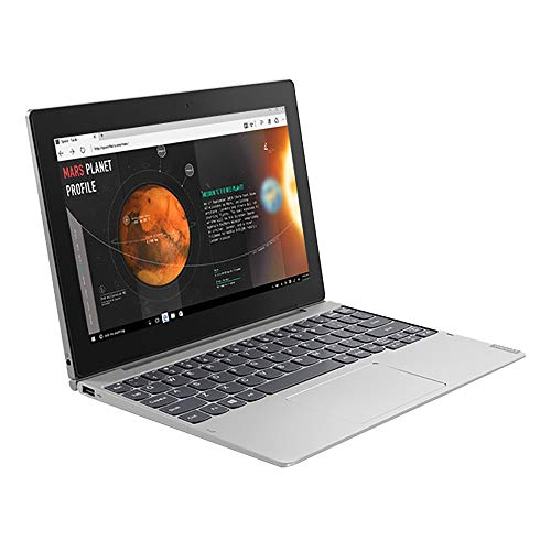 Lenovo Ideapad D330 81H3S01S00 10.1-inch Detachable Laptop (2-in-1) (N4000/4GB/128 GB SSD/Windows 10 Home SL/Integrated Graphics), Mineral Grey