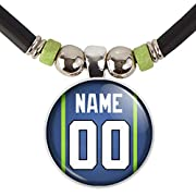 TEAM DISCOUNT: Great Seattle football team gift. Order for your team (10 or more) and receive 20% DISCOUNT. Discount applied automatically THE PERFECT GIFT FOR YOURSELF OR ANY SEATTLE FOOTBALL TEAM OR FAN: This necklace will make a perfect gift for a...