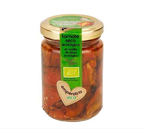 Emperatriz - Tomate Seco Ecologico en Aceite de Oliva Virgen Extra- Garantizando el mejor Sabor para tus Comidas 155 g