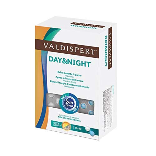 Vemedia Pharma Valdispert Day & Night 30 Compresse Day + 30 Compresse Night
