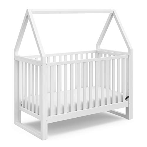Product Image of the Storkcraft Orchard 5-in-1 Convertible Crib (White) - Easily Converts to Toddler...