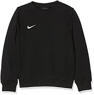 Español Fuera de plazo rueda  Nike Yth Team Club Crew - Sudadera para niño, Negro (Black/Football White),  M (137 - 147 cm/