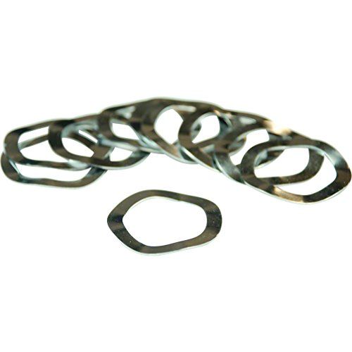 Wheels Manufacturing Wave Washer Spacers 30mm Bike Pack Accessories (Bag of 10)