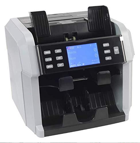 GAO-bo Contador de Dinero, Detector de Dinero portátil, con Impresora...