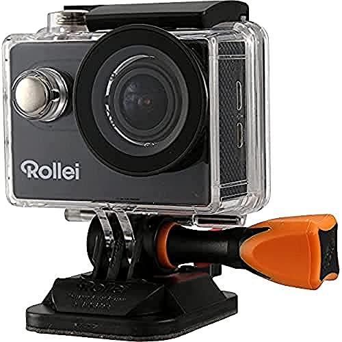 Rollei 425 - Cámara de acción con Pantalla de 2' (WiFi, CMOS, 4K, Control Remoto inalámbrico) Color...