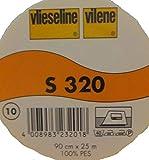 2 m feste Schabrackeneinlage weiß S 320 von Freudenberg 90