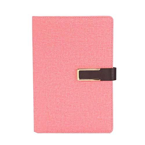 aedouqhr Bloc de Notas Cuaderno de papelería Engrosamiento A5 Cuaderno de Negocios Diario de Trabajo Superficie Dura Cuaderno de Registro de reuniones Bloc de Notas (Color: A, Tamaño: 15 * 22cm)