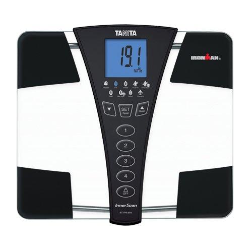 Tanita Ironman BC-549 Plus Personenwaage, Körperanalyse, 9 Funktionen, große Fläche