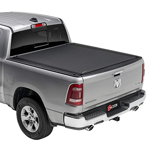 """BAK Revolver X4 Hard Rolling Truck Bed Tonneau Cover   79213   Fits 2009-2018, 19/20 Classic Dodge Ram, 19 CLA 1500 only, 2019: 2500-3500 only 6' 4"""" Bed (76.3"""")"""