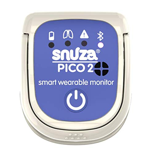 Snuza Pico 2 Smart Baby Movement Monitor with Mobile App - Works Anywhere with...