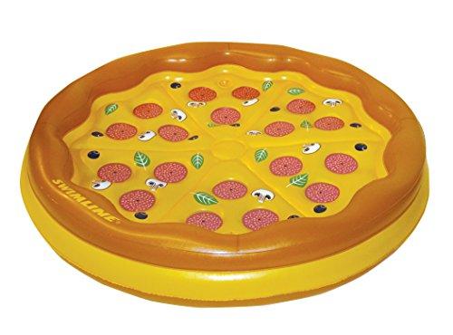 Swimline Personal Pizza Floating Island Yellow 70'' Diameter