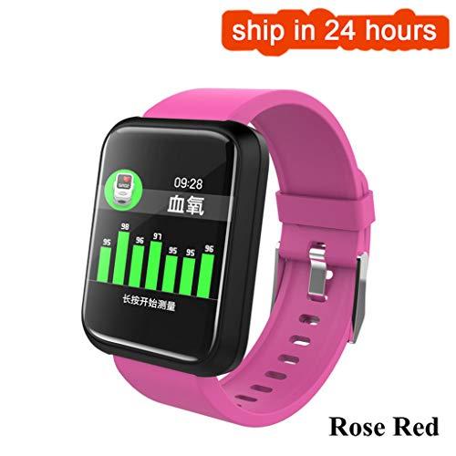 JingJingQi Fitness tracker 2019 Nieuwe Sport3 Smart Watch Mannen Bloeddruk IP68 Waterdichte Fitness Tracker Klok Smartwatch Voor IOS Android Draagbaar apparaat