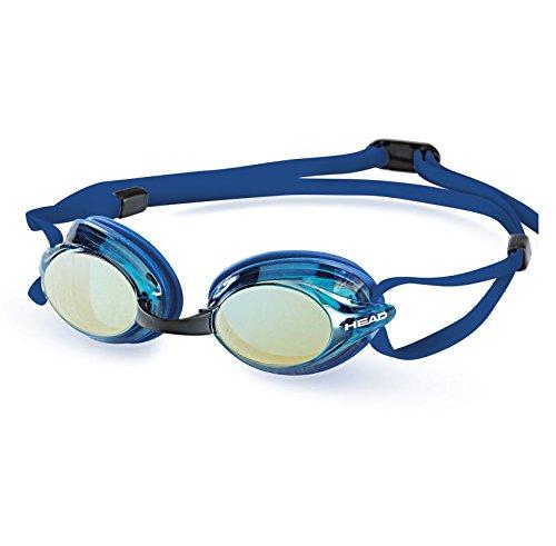 Head Testa Venom 2.0Lenti a Specchio occhialini da Nuoto, Blu