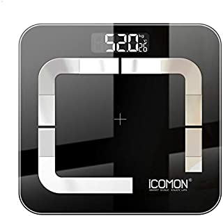 Báscula Báscula De Peso De Baño Inteligente Original Báscula De Grasa Corporal Digital Lcd De Piso Balanza De Pesaje Humano Balance Bluetooth