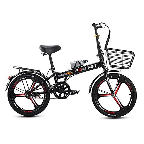 Bicicletas Plegables, Bicicletas de CercaníAs, Llantas de 20 Pulgadas, Livianas Y PortáTiles, Utilizadas para Ir Al Trabajo, Adecuadas para Adultos Y Estudiantes/B/Como se muestra
