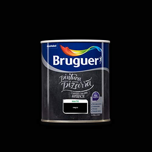 Bruguer Pintura Pizarra Multisuperficie Negro 750 ml