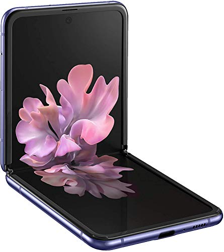 Samsung Galaxy Z Flip (17,03 cm) 256 GB interner Speicher, 8 GB RAM, Dual SIM, Deutsche Version, mirror purple