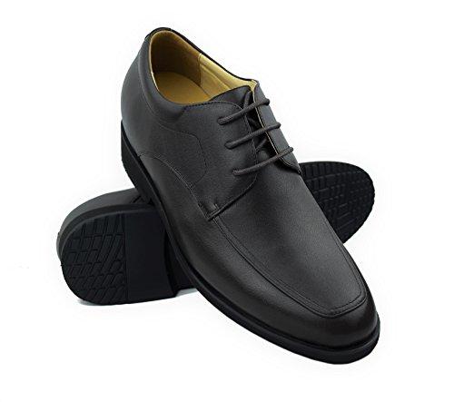 Zerimar Herren Schuhe mit undsichtbarer erhöhundg 7 cm Schuh aus hochwertigem Leder Farbe Versteckter anhebender