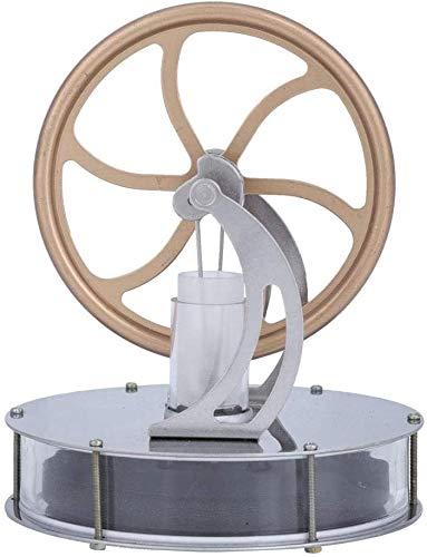 Aigend Stirling Stirlingmotor, Niedrige Temperatur Stirling-Motor Motor Dampf-Wärme-große Geschenk Bildung Modell Toy Kit