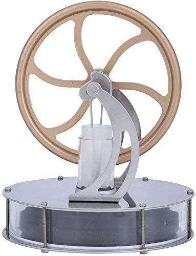 Aigend Stirling Engine - Low Temperature Stirling Engine Motor Steam Heat Great Gift Education Model Toy Kit