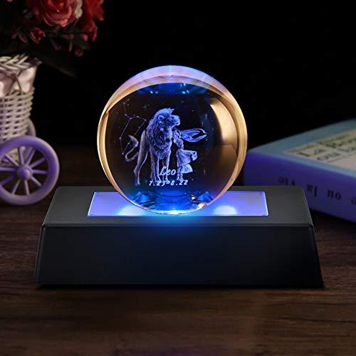 WOUPY Base de Pantalla, Base de Pantalla LED Rectangular Decorativa, para Joyas Estatuas de Cristal 3D