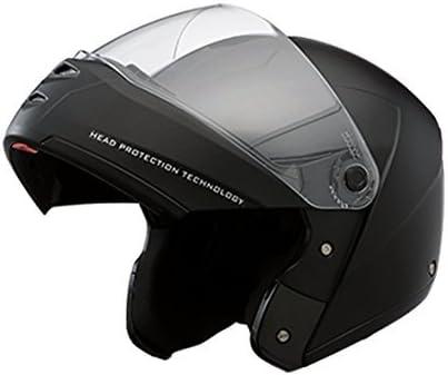 Studds ST - 001 Ninja Elite Flip Up Trendy Helmet for Men and Women (L - 58 - 59 Cms,Black, Mirror Visor)