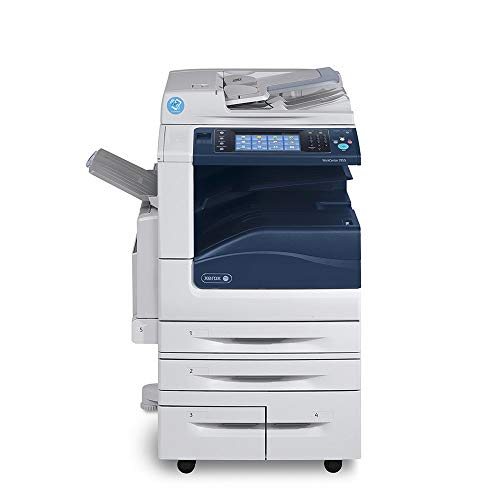Review Xerox WorkCentre 7855i Tabloid-size Digital Color Laser Multifunction Copier - 55ppm, Copy, P...